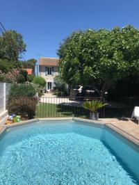 Villa Hyères Mas Aquarelle, vieux mas en pierres avec piscine