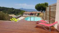 Villa Hyères Villa hauteur de hyeres piscine et vue