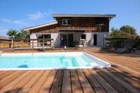 gite Arcachon Belle maison avec piscine -4 CH- au lac de Cazaux