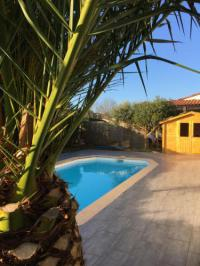 gite Salles Maison bassin Arcachon terrasses jardin piscine