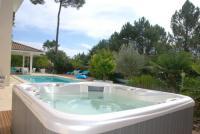 gite Audenge A 5 min de la plage du Pyla, au pied du Golf, piscine, spa, parking, 14 couchages, Villa Accolade