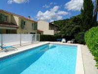 gite Celles Modern Villa in Languedoc-Roussillon with Private Pool