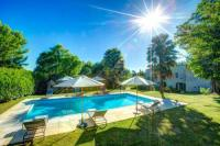 gite Ruch Landerrouat Villa Sleeps 8 Pool WiFi
