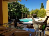 gite Le Cailar Villa Bambou Piscine Chauffée