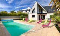 Gîte Morbihan Gîte Magnifique Villa de standing - Piscine chauffée - Plage à pied