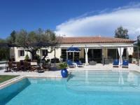 gite Cassis Villa piscine chauffé