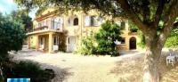gite Hyères villa lei roucas, la fossette,proche plage ,vue mer,12 p