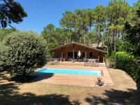 gite Lacanau Villa familiale et piscine chauffée sécurisée - Cap Ferret - Piraillan