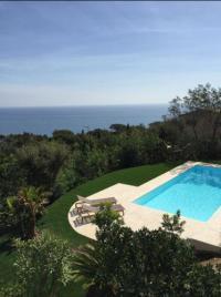 gite Grimaud Villa vue mer panoramique