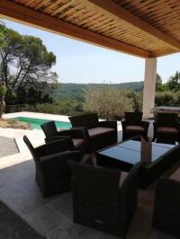 gite Roquebrune sur Argens villa 12 personnes a lorgues