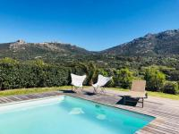 gite Algajola Villa avec piscine et vue mer - VILLAPIA