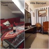 Gîte Ile de France Gîte Villa Baroque  Appartement Luxe