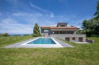 gite Morzine La villa M au coeur du golf avec vue sur le lac Léman