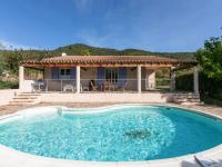 gite Béziers Cozy Villa in Roquebrun with Private Pool