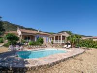 gite Berlou Spacious Villa in Roquebrun with a Swimming Pool