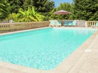 gite Bonneville et Saint Avit de Fumadières Cozy Villa in Port-Sainte-Foy-et-Ponchapt with Swimming Pool