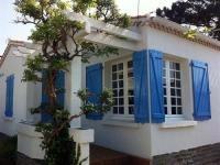 Villa Saint Gilles Croix de Vie House Agreable maison de vacances a 400m de la plage de boisvinet