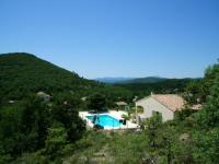 gite Saint Priest Villa with 6 bedrooms in SaintJeanduPin with wonderful mountain view private pool enclosed garden 100 km from the beach