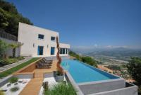 gite Grasse Exceptional Californian Villa, Panoramic Sea View, Infinity Pool