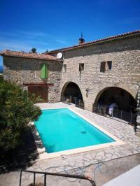 gite Saint Césaire de Gauzignan Holiday home Chemin de Pourtier