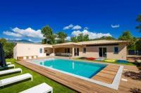 gite Conca Villa Poggio Rosso - Pool-House - Piscine chauffée