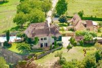 gite Dégagnac Calviac-en-Perigord Villa Sleeps 22 Pool Air Con