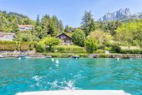 Gîte Haute Savoie Gîte Le Fartot : Villa dans la Baie avec ponton privé.