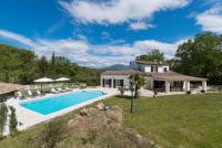 gite Peymeinade Villa des Bruisses - renovated family villa, walking distancevillage