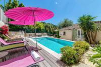 gite Nice Vallauris Villa Sleeps 8 Pool Air Con WiFi