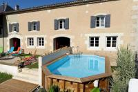 Gîte Poitou Charentes Gîte Villa with 5 bedrooms in Voissay with private pool enclosed garden and WiFi 40 km from the beach