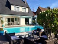 Gîte Alsace Gîte Villa with 3 bedrooms in Walbach with wonderful mountain view private pool furnished garden