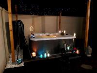 Gîte Aquitaine Gîte Séjour romantique en couple avec Jacuzzi privé Chromotherapie Jardin Maison privée OFFERTE UNE BOUTEILLE DE CHAMPAGNE