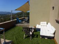 Gîte Corse Gîte Superbe maison vue mer à 180 et piscine chauffée dominant la baie de San Ciprianu