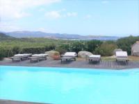 Gîte Corse Gîte Villa vue mer avec piscine entre Saint Cyprien et Pinarello -2