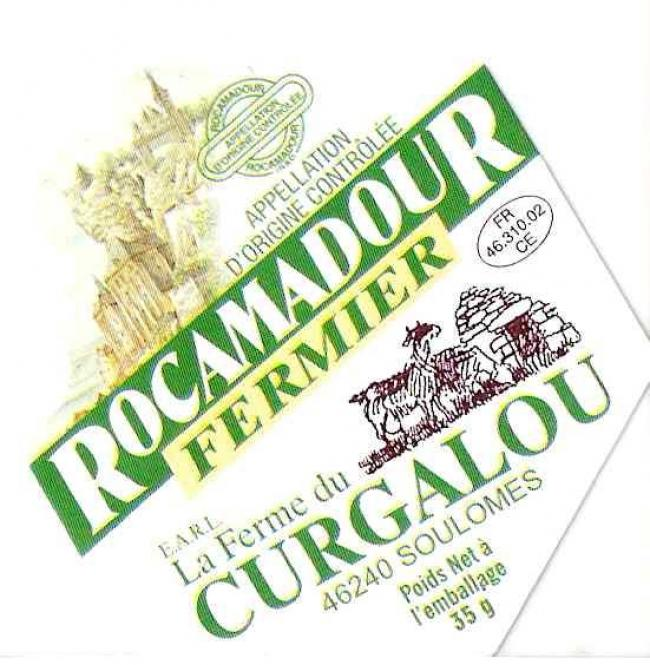 Ferme de Curgalou : Fromages de Chèvre Rocamadour AOP-Credit