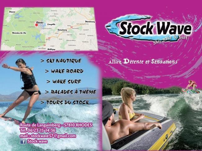 STOCK WAVE : ACTIVITES NAUTIQUES SUR L'ETANG DU STOCK-Credit