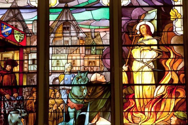 JOURNÉES EUROPÉENNES DU PATRIMOINE - VISITE GUIDÉE DE L'ÉGLISE JEANNE D'ARC-Credit-eglise-Jeanne-d-Arc
