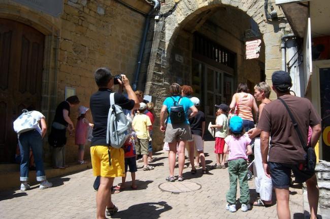 Visite Guidée Classique de la Cité Médiévale-Credit-OTI-Gourdon