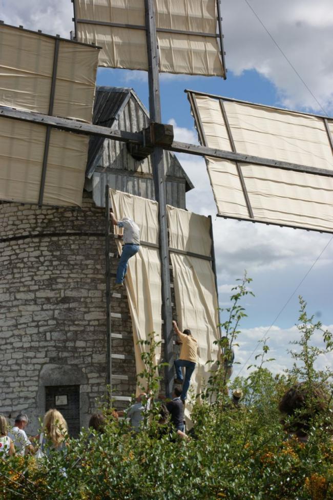 Visites Commentées des Moulins à Vent et à Eau à Castelnau-Montratier-Credit