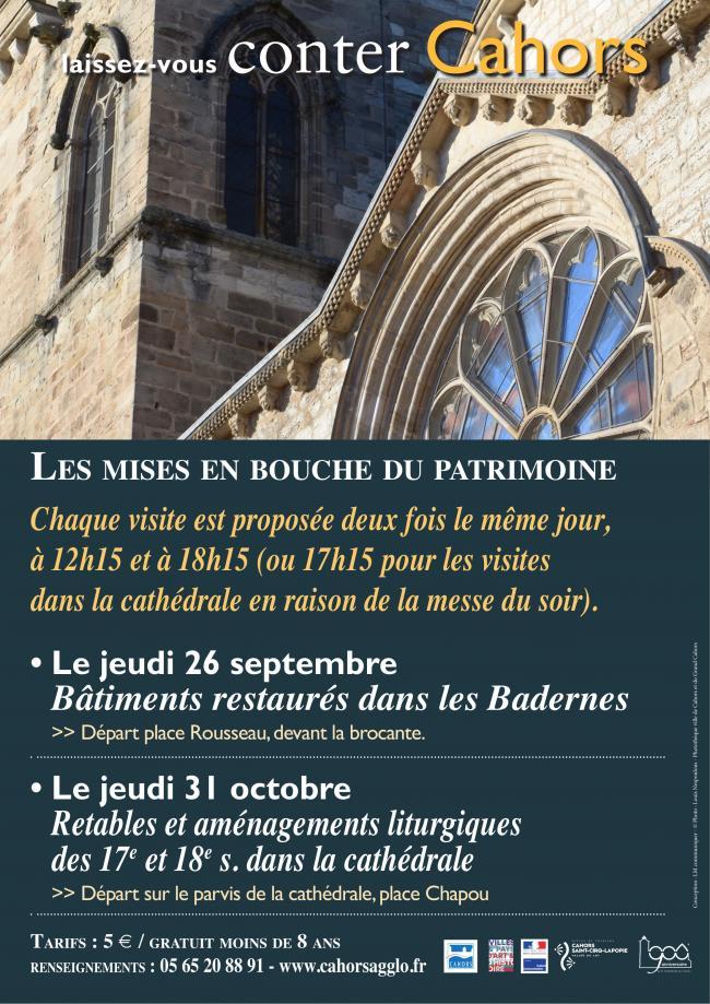 Les Mises en Bouche du Patrimoine : Rétables et Aménagements Liturgiques des 17e et 18e dans la Cathédrale-Credit-Service-Patrimoine-Cahors
