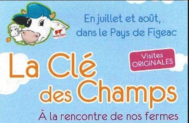 La Clé des Champs, à la Rencontre de nos Fermes Visite de la Gaec de La Rauze-Credit