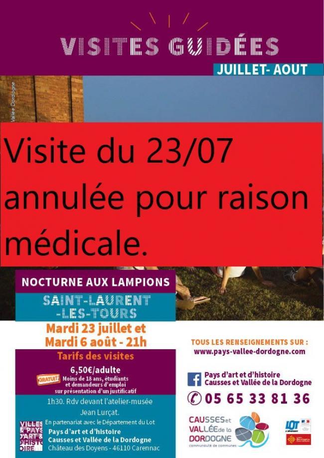 Pays d'Art et d'Histoire : Visite à la Lueur Des Lampions- VISITE ANNULÉE-Credit-pahcvd
