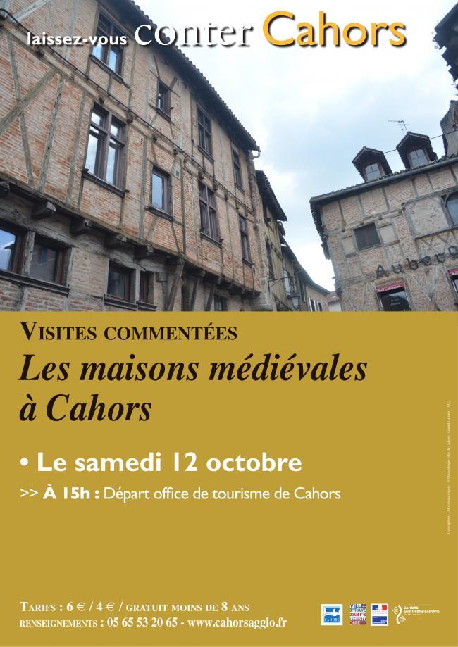 Visite Guidée : Cahors, les Maisons Médiévales-Credit-Service-Patrimoine-Cahors