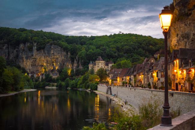Visite guidée du village de La Roque Gageac-Credit-Pen-Graphics