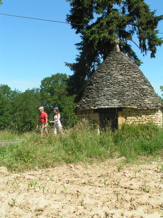 Village de la Chapelle Aubareil-Credit-OT-Lascaux-Dordogne
