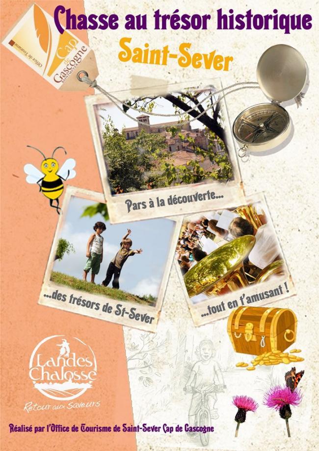 Chasse au trésor historique de Saint-Sever-Credit-Office-de-Tourisme