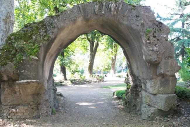 Périgueux, le jardin des arènes-Credit-office-de-tourisme-de-Perigueux