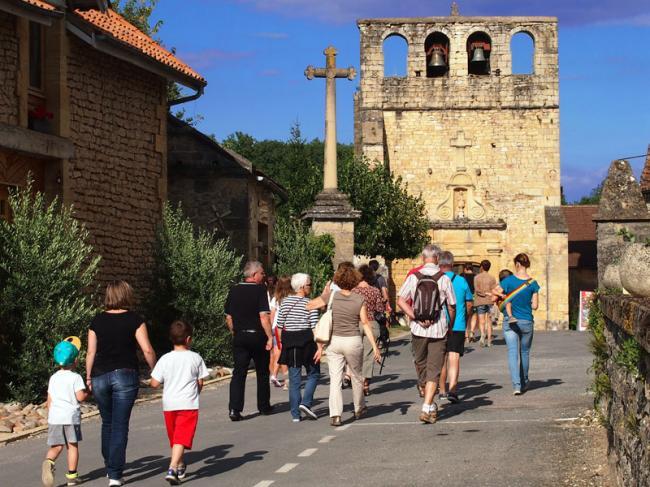 Visite guidée de Meyrals-Credit-mairie-de-Meyrals