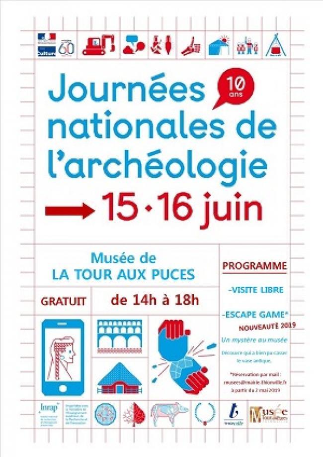 JOURNÉES NATIONALE DE L'ARCHÉOLOGIE - MUSÉE DE LA TOUR AUX PUCES-Credit-Ministere-de-la-Culture