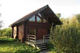 Charming Chalet with Swimming Pool in Quend-Le-Chalet-En-Bois-3